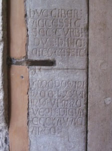 The inscription from 127